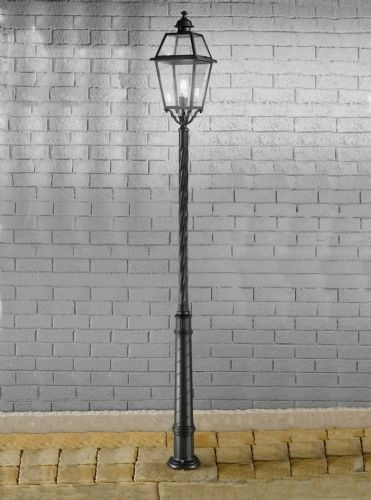 Franklite EXT6604 Dark Grey Post Light
